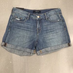 J Brand Joey Low-Rise Easy Cut Off in Westerly